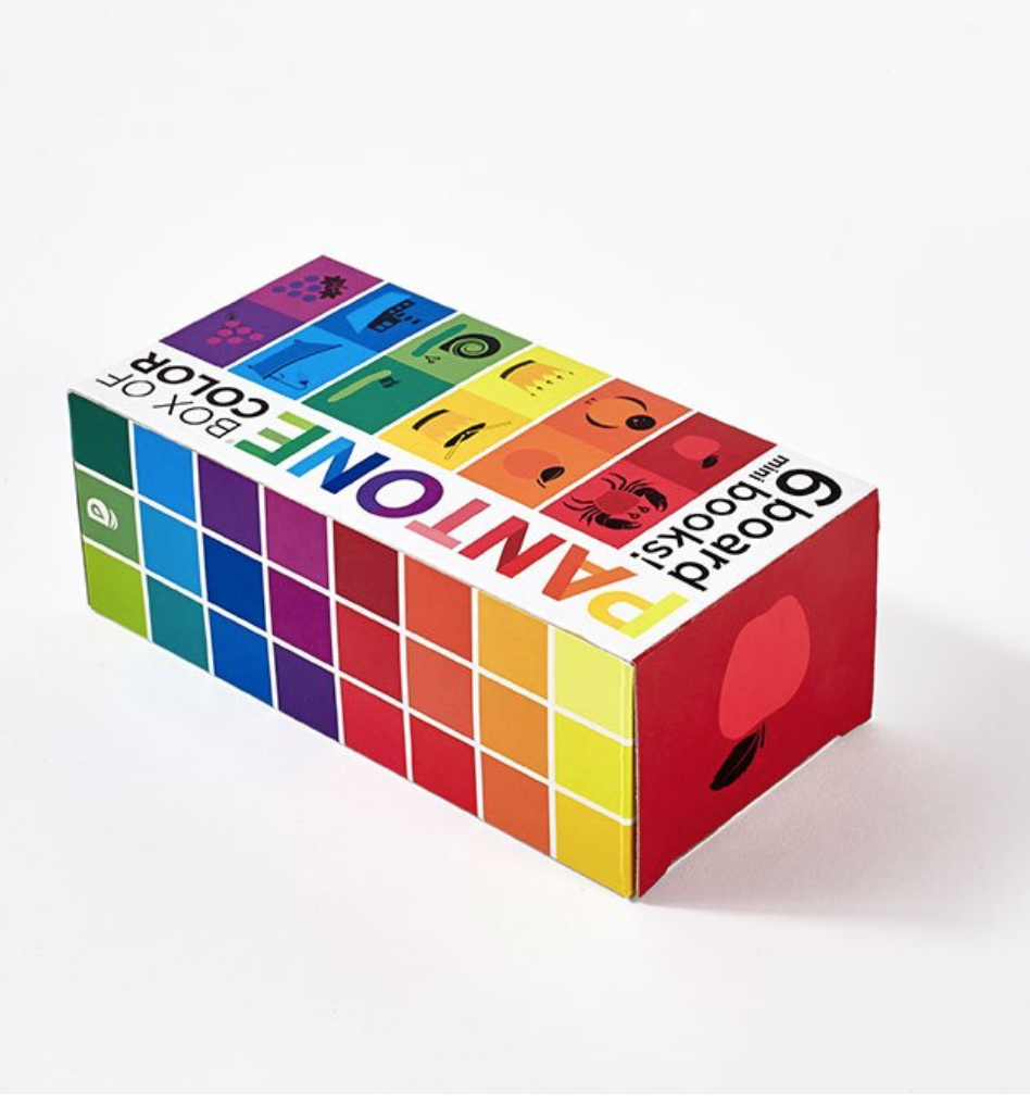 Pantone Box Of Color 6 Board Books Cooper Young Gallery Gift Shop